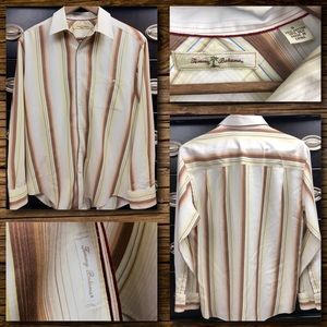 Tommy Bahama Striped Long Sleeve Button Shirt